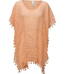 amnesia kaftan beach wear orange seafolly
