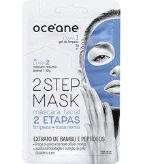 máscara facial 2 step bambu 13g - océane único