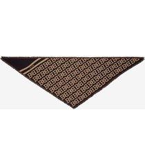 b-chain triangle scarf black 1