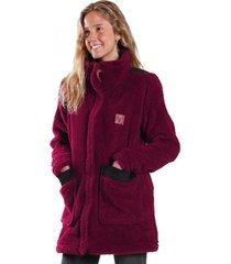 abrigo cumbres burdeo raindoor