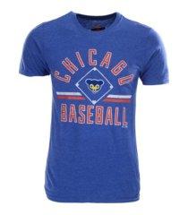 majestic chicago cubs men's vintage ticket stubs t-shirt