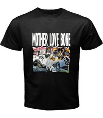 mother love bone andrew wood rock band music men's black t-shirt size s-3xl