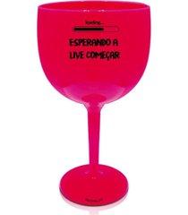 2 taã§as gin rosa personalizada para live - rosa - dafiti