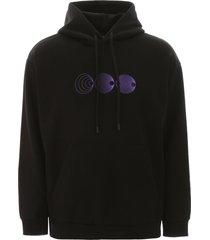 marcelo burlon poster print hoodie