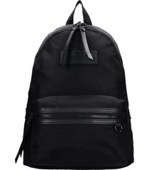 marc jacobs backpack in black polyester