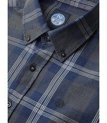camicia con motivo check