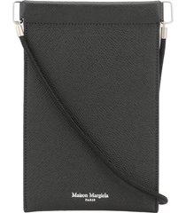 maison margiela leather cell phone holder case