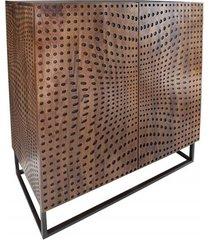 komoda szafka illusion drewno mango 120cm