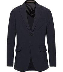 rudy searsucker silkblend blazer colbert blauw whyred