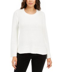 style & co boxy knit pullover sweater, created for macy's