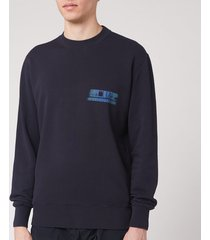 c.p. company men's sweatshirt - total eclipse - xxl