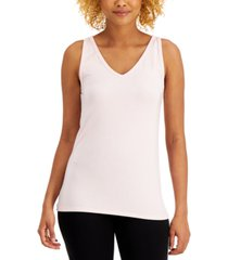 alfani super soft modal tank top, created for macy's