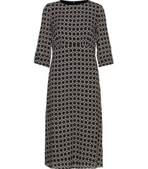 dresses light woven knälång klänning grå esprit collection
