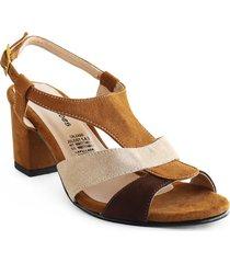 calzado dama tacon 542881multicolor