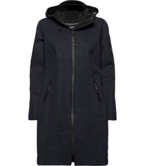 long raincoat regenkleding blauw ilse jacobsen