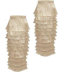 women's gucci fringe leg warmers