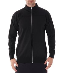 element full zip cardigan - black 772-00l blk