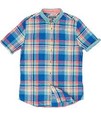 colours & sons katoenen overhemd korte mouw