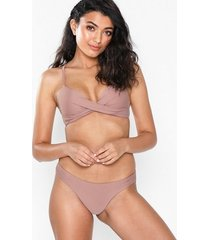 nly beach brazilian bikini panty trosa dusty rose