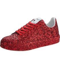 sneakers klingel röd