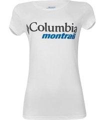 camiseta columbia cool breez graphic feminina