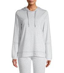 marc new york performance women's drawstring hoodie - vapor heather - size s