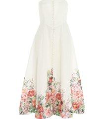 zimmermann bellitude bustier dress