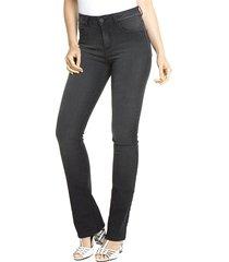 calça sideral regular jeans black jeans