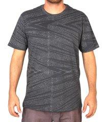 camiseta especial lost opium shard - cinza - masculino - dafiti