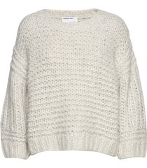 hertha sleeve sweater stickad tröja creme designers, remix