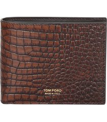 tom ford crocodile print wallet