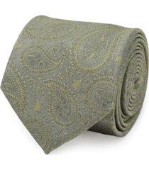 men's yoda paisley tie
