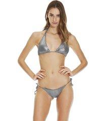 triang bikini metallic