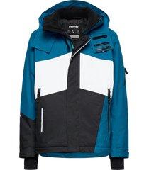 laks outerwear snow/ski clothing snow/ski jacket blauw reima