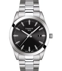 tissot t-classic gentleman bracelet watch, 40mm