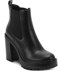 gbg los angeles starly platform booties women's shoes