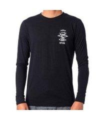 camiseta de lycra rip curl search logo