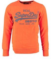 superdry oranje sweater