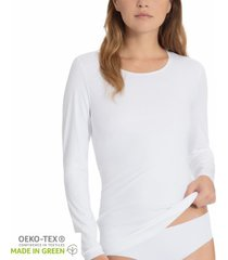 calida natural luxe long sleeved top * gratis verzending *