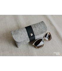 marmollada - etui filcowe na okulary szare + c