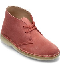 desert boot. shoes boots ankle boots ankle boot - flat röd clarks originals