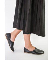 buty płaskie czarne