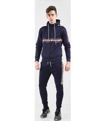 bravo jeans joggingpak heren - navy