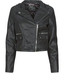 leren jas guess frances jacket