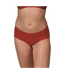 calcinha calça baixa virtuel demillus 36498 carmim vermelho