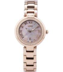 reloj  loix - ref l 1144-5 - dorado