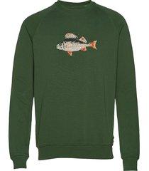 bait sweatshirt sweat-shirt trui groen forét
