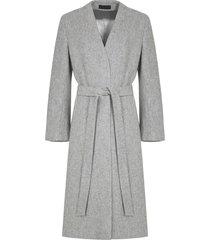 płaszcz wełniany jasno szary