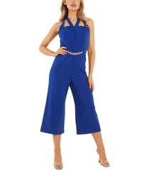 quiz cutout culotte jumpsuit