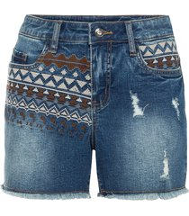 shorts ricamati (blu) - bodyflirt